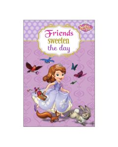 Sofia the first Enchanted Garden Party Vertical Banner 03