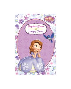 Sofia the first Enchanted Garden Party Vertical Banner 04