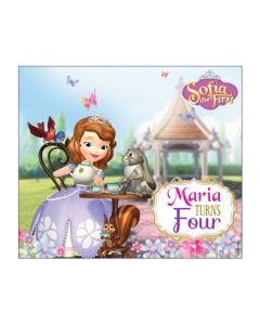 Sofia the first Enchanted Garden Party Horizontal Banner
