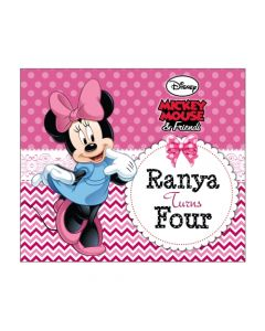 Minnie Mouse Banner  - Horizontal
