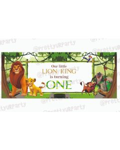 Personalized Lion King Theme Banner 30in