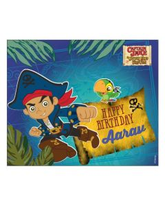 Captain Jake and the Neverland Banner  - Horizontal