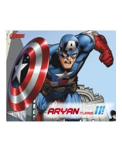 Captain America Banner  - Horizontal