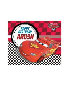 Disney Cars Banner  - Horizontal