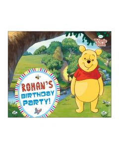 Winnie the Pooh Banner  - Horizontal