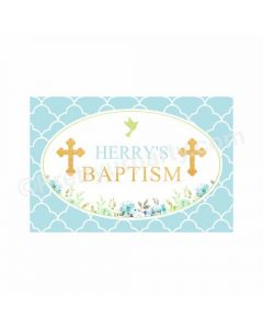 Baptism Theme Backdrop