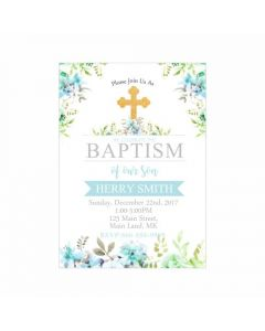 Baptism Theme Invitations