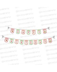 barbeque theme bunting