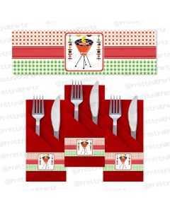 Barbeque Napkin Rings