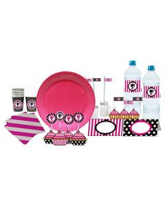 Barbie Silhouette Tableware Package
