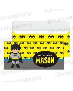 Batman Inspired Money Envelopes