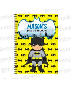 Batman Inspired Note Books