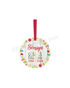 Personalized Christmas Bauble Design 10