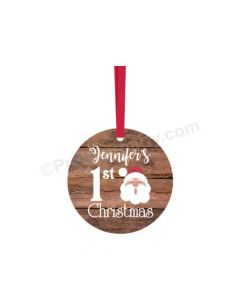 Personalized Christmas Bauble Design 11