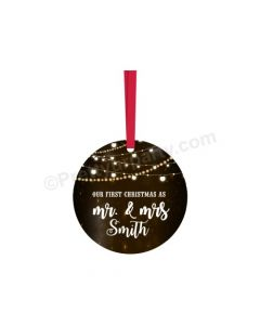 Personalized Christmas Bauble Design 6