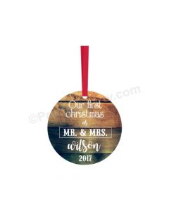 Personalized Christmas Bauble Design 9