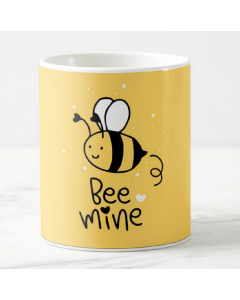 Bee Mine Valentines Mug