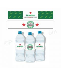 Beer Party Theme Water Bottle Labels