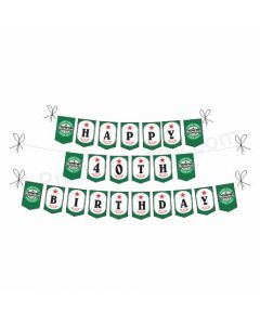 Beer Party Theme Bunting