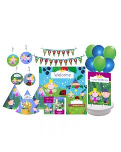 Ben and Holly's Little Kingdom Party Decorations