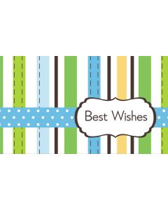 custom best wishes fluorescent design