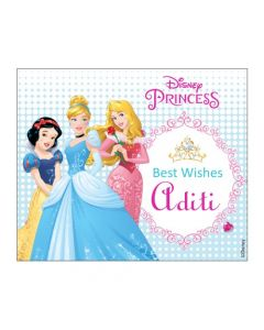 Disney Princess Best Wishes card