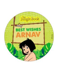 Jungle Book Best Wishes card