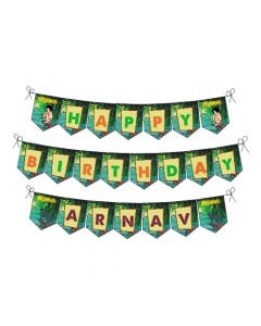 Jungle Book Happy Birthday Banner