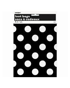 Black Polka Dots Loot Bags
