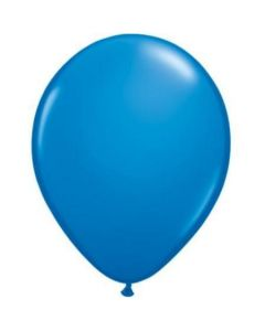 Dark Blue Latex Balloon