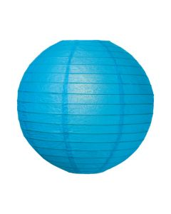 Blue Round Paper Lamps