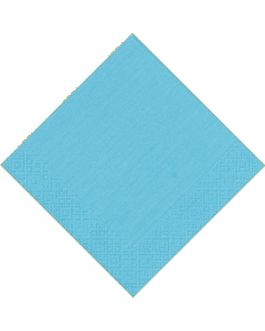 Blue plain Paper Napkins