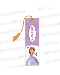 Sofia the 1st Inspired Bookmarks