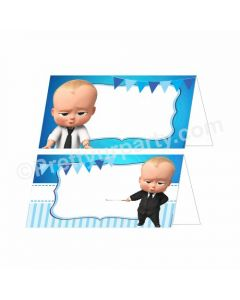 Boss Baby Theme Food Labels / Buffet Table Cards