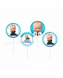 Boss Baby Theme Cupcake / Food Toppers