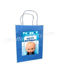Boss Baby Gift Bags - Pack of 10