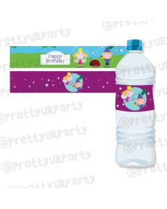 Ben and Holly's Little Kingdom Water Bottle Labels