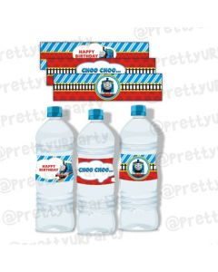 Thomas the Train Bottle Labels
