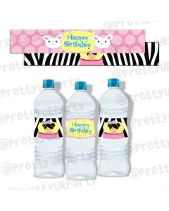 Slumber Water Bottle Labels