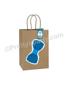 Bow Tie Theme Gift Bags - Pack of 10