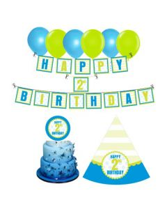 2nd Birthday Decorations for Boys