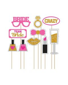 Bride to Be Photo Booth Props