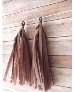 Brown Tassel Garland