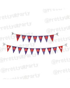 Nautical theme bunting
