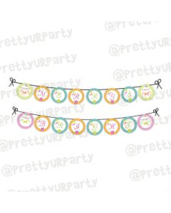 Merry and Bright bunting