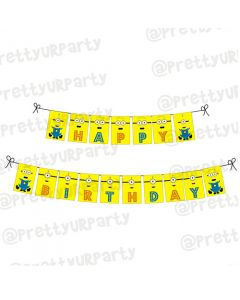 Despicable Me Minions Bunting