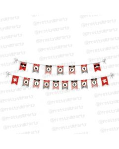 Mickey Mouse Inspired Bunting