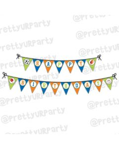 Sports Theme Bunting