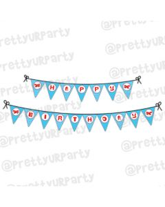 Airlines Theme Bunting