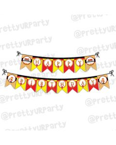 Fire Truck Bunting